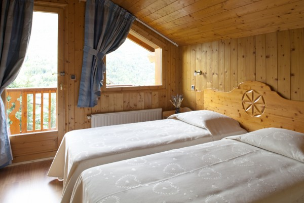 Chalet Serpolet Twin Bedroom