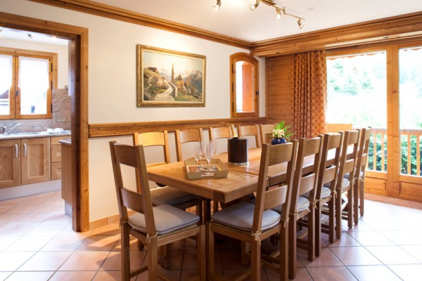 Chalet Serpolet Dining Room