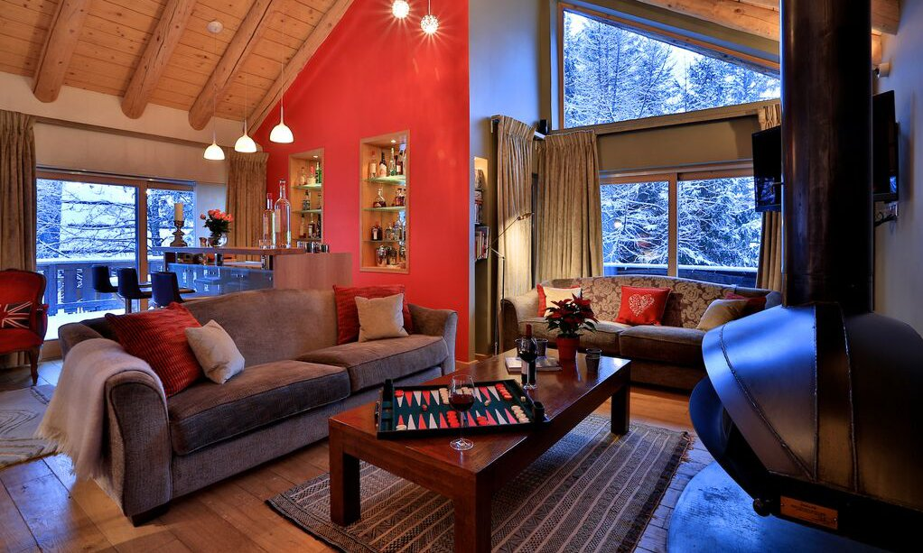 Chalet Arolla Living Room