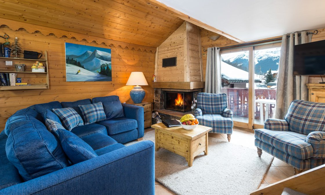 Chalet Chamois Living Room