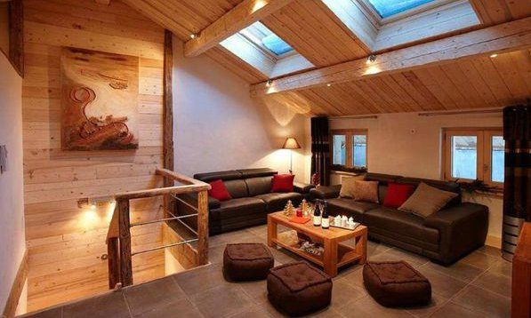 Cosy Chalet Living Room