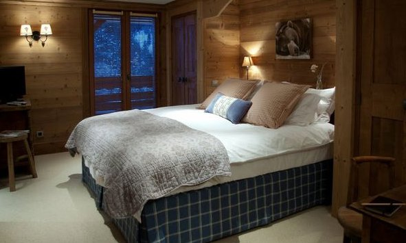 Lovely en suite chalet bedrooms
