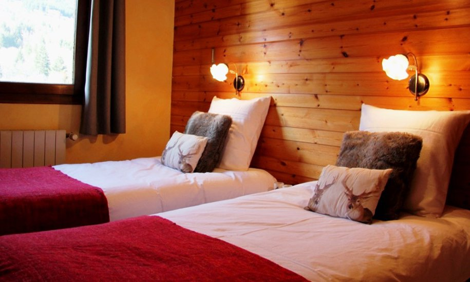 Twin Bedroom Chalet Lapin