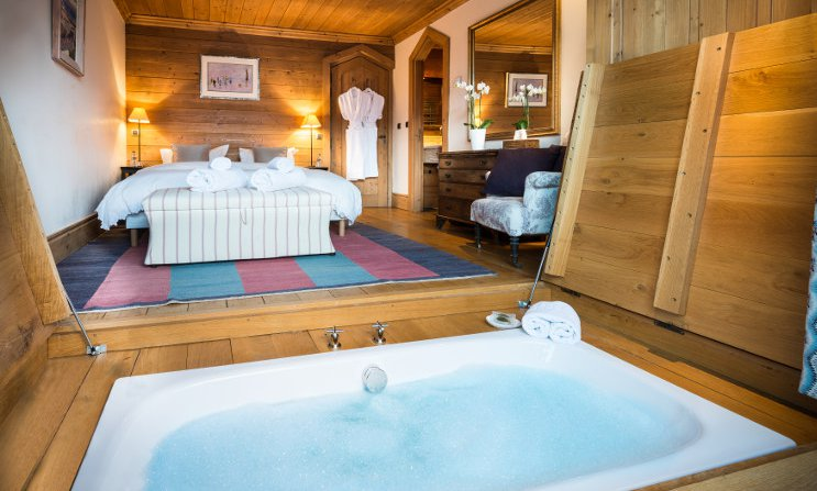 Luxurious Bathing in Chalet Moguls