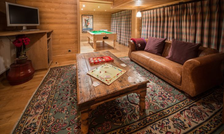 Games Room in Chalet Moguls