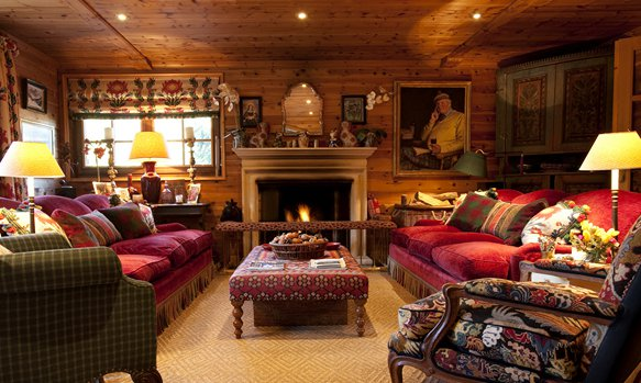 Chalet La Varappe Luxurious Living Room