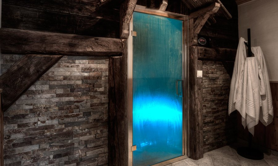 Chalet Hermine Steam Room