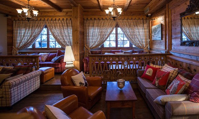 Lounge in the Hotel Alpe Ruitor