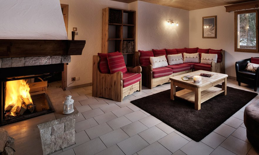 Chalet Bouquetin Living Room