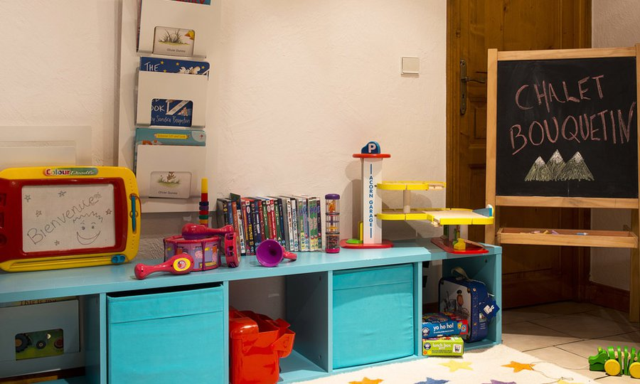 Chalet Bouquetin Playroom