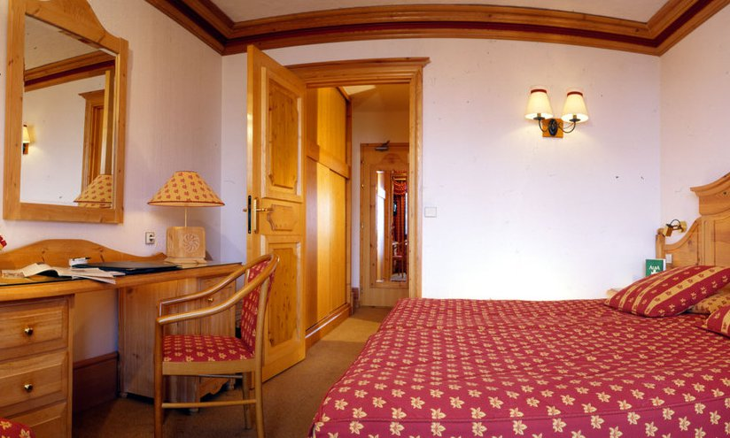 Chalet Hotel Alba Bedroom