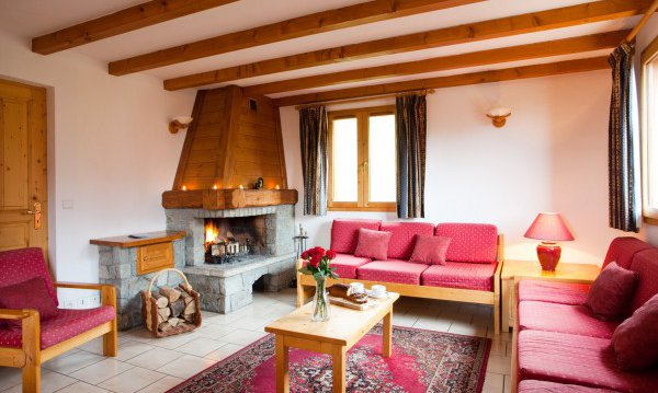 Chalet Alysson Living Area