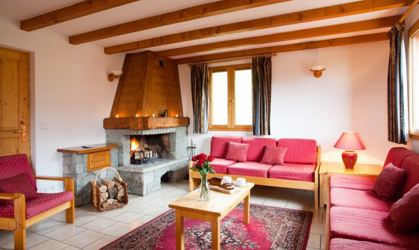 Chalet Alysson Open Fire
