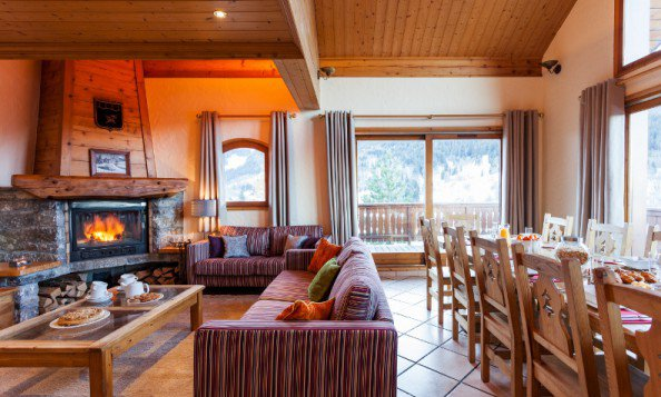 Meribel Ski Holidays Chalet Chez menor