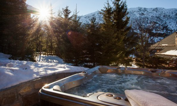 Meribel Hot Tub