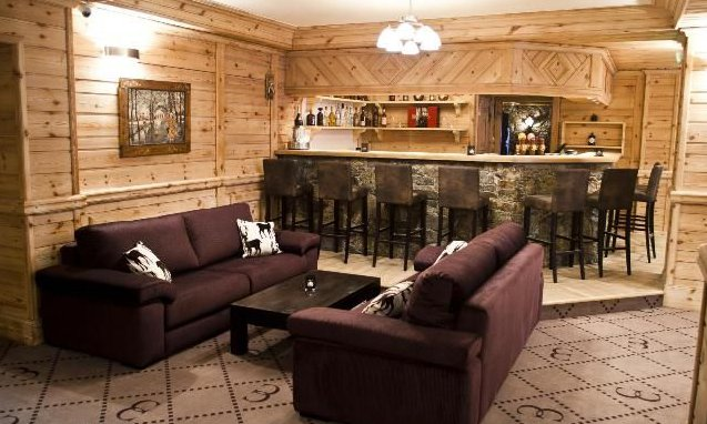 Hotel Le Chaudanne bar Meribel