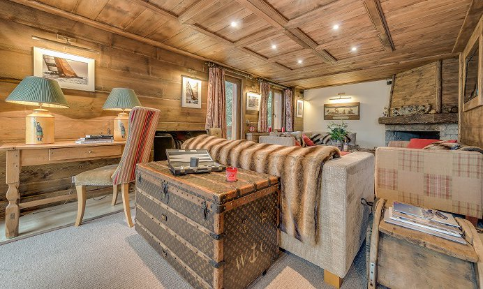 Chalet Chopine Large Bedroom