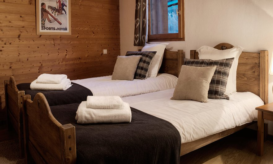 Chalet Twin Bedroom