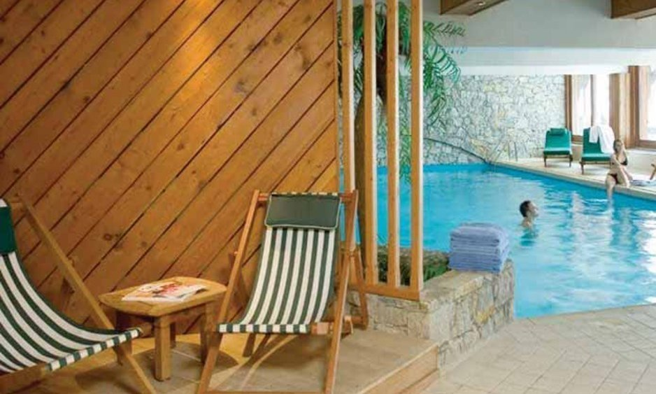 ... Hotel Le Mont Vallon Swimming Pool