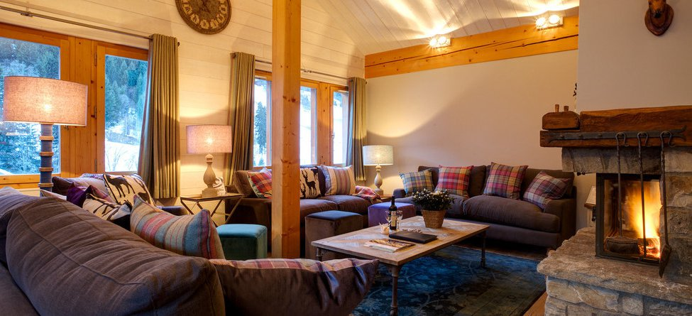 Chalet Pasarale Living Room Meribel