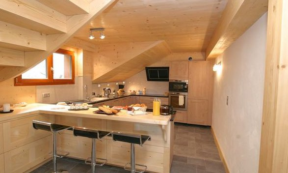 Chalet Petit Silene Kitchen