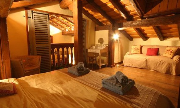 Lovely Bedroom Chalet Sainte Appolonnie