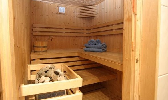 Sauna in Chalet Sainte Appolonnie