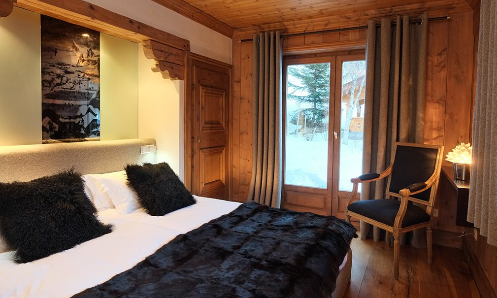Chalet Mariefleur Bedroom