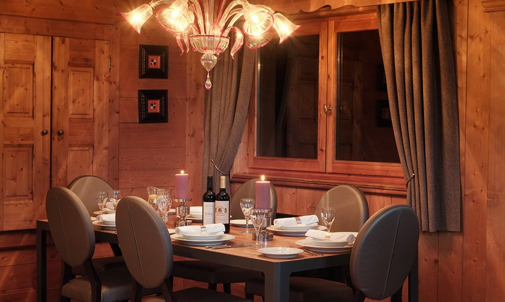 Chalet Marielaine Dining Room