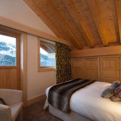Chalet Bellacima Double Bedroom