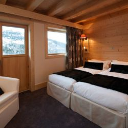Chalet Bellacima Twin Room with view