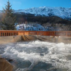 Chalet Bellacima Hot Tub
