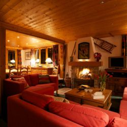 Chalet Bruyere Lounge and Dining Room