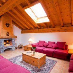 Chalet Azalee Living Area