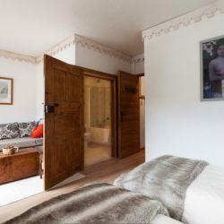 Chalet Bouchot Twin Bedroom