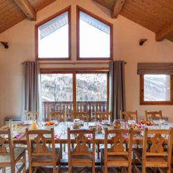 Chalet Chez Menor Dining Room