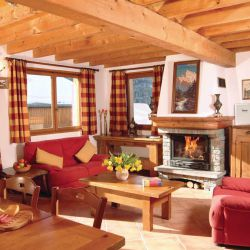 Chalet Lys Blanc Living Area