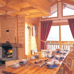 Chalet Meleze Dor Meribel family ski holidays