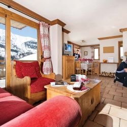 Chalet Oxalys Meribel Open Fire