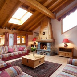 Chalet Telekie Living Area