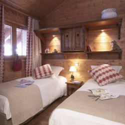 Fermes de Meribel Villages Twin Bedroom