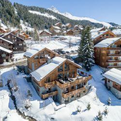 Chalet Le Grenier in Snowy Meribel