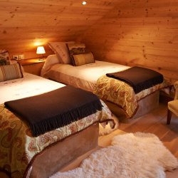 Chalet Annabel Twin Bedroom
