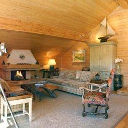 Chalet Bartavelles Living Room