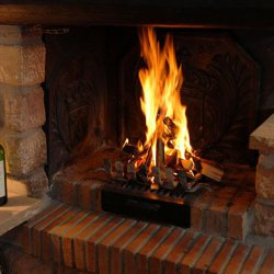 Chalet Christiane Roaring Fire
