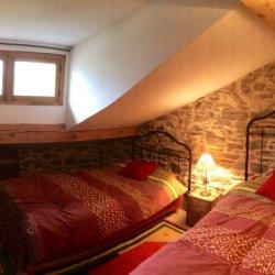 Chalet Claire de LuneTwin bedroom