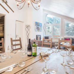 Chalet Dou du Pont Dining Table