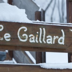 Chalet Le Gaillard in the Snow