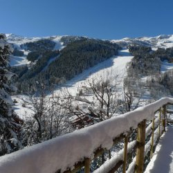 Chalet La Fuge Balcony