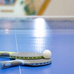 Ping pong at Les Arolles